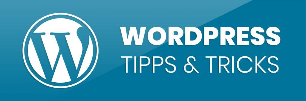 Logo für die Reihe WordPress Tipps & Tricks im Blog der Web- und Grafikagentur jotdesign